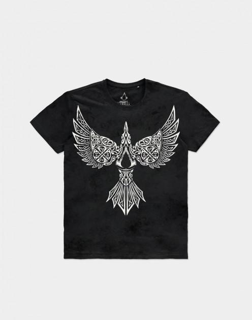 Tričko Assassins Creed: Valhalla - Raven (velikost L)
