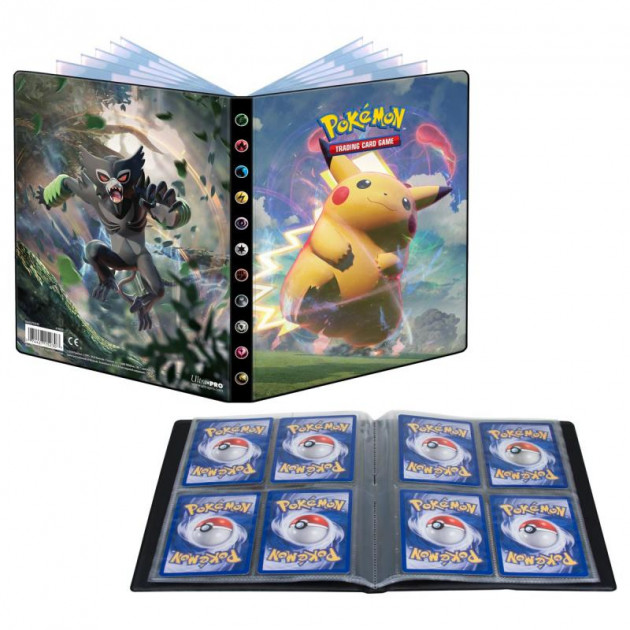 Karetní hra Pokémon TCG: Sword and Shield Vivid Voltage - A5 Album (80 karet)