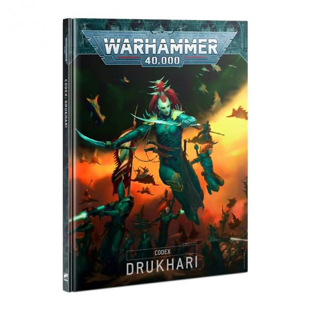 Kniha W40k: Codex: Drukhari (2021)