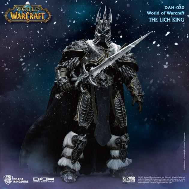 Figurka World of Warcraft - Lich King (21 cm, svítící oči)