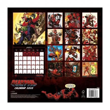 Kalendář Deadpool 2020