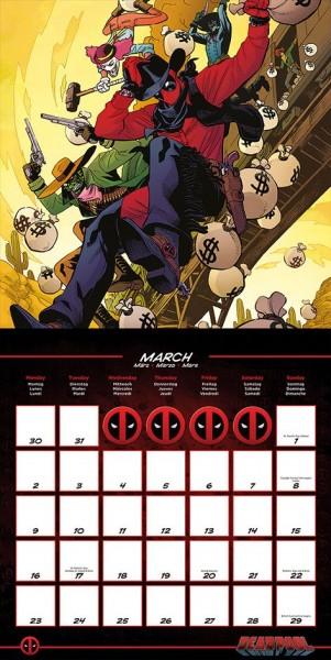 Deadpool Calendar 2020