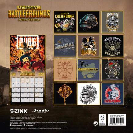 Kalendář Playerunknown's Battleground 2020