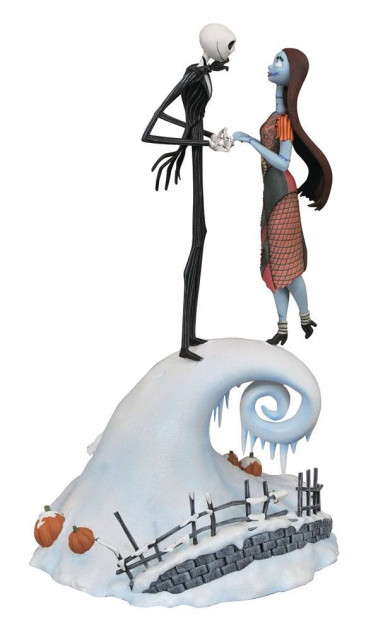 Figurka The Nightmare Before Christmas - Jack and Sally (DiamondSelectToys)