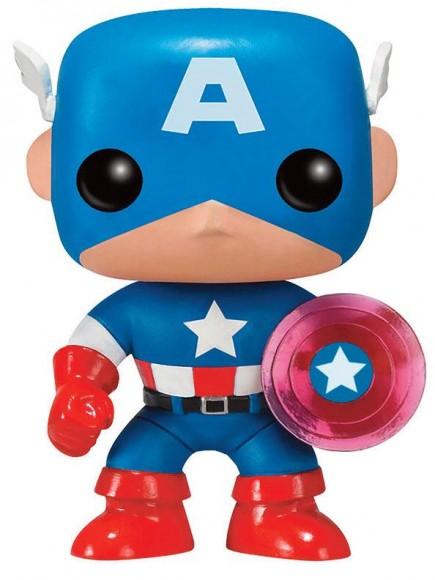 Figurka Marvel - Captain America Photon Shield 75th Anniversary Limited (Funko POP!)