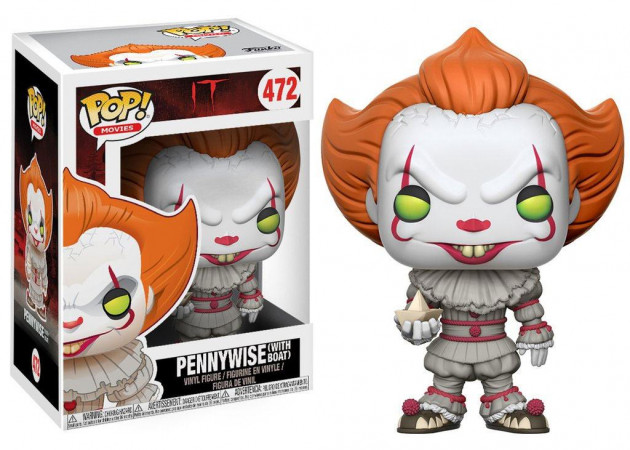 Figurka IT - Pennywise with Boat (Funko POP! Movies 472)