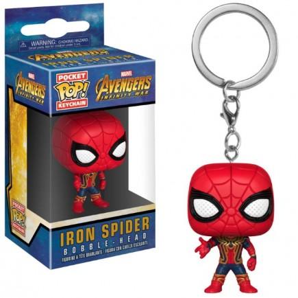 Klíčenka Avengers: Infinity War - Iron Spider (Funko)