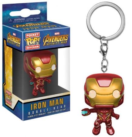 Klíčenka Avengers: Infinity War - Iron Man (Funko)