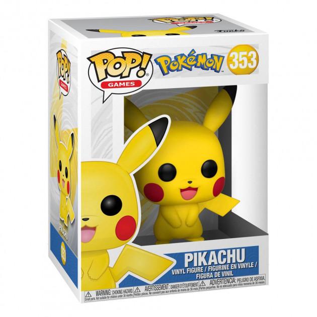 Figurka Pokémon - Pikachu S1 (Funko POP! Games 353)