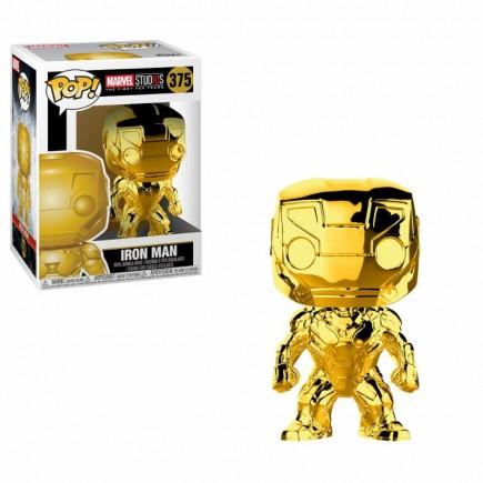 Figurka Marvel - Iron Man (chrome) (Funko POP! Marvel 375)