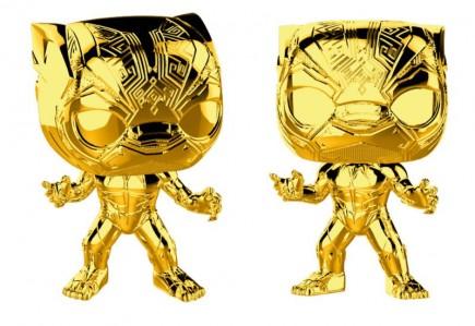Figurka Marvel - Black Panther (chrome) (Funko POP!)