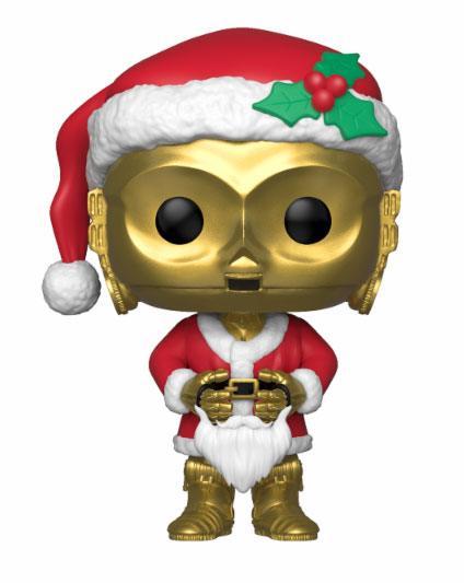 Figurka Star Wars - C-3PO Holiday Santa (Funko POP! Star Wars 276)
