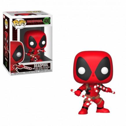 Figurka Deadpool - Holiday Deadpool with Candy Canes (Funko POP! Marvel 400)