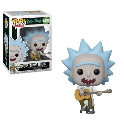 Figurka Rick and Morty - Tiny Rick with Guitar (Funko POP!)