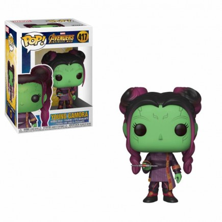 Figurka Avengers: Infinity War- Young Gamora with Dagger (Funko POP! Marvel 417)