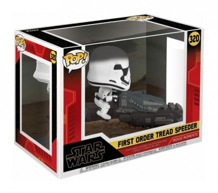 Figurka Star Wars IX: Rise of the Skywalker - Tread Speeder (Funko POP! Movie Moments)