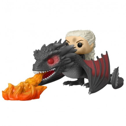 Figurka Game of Thrones - Daenerys on Fiery Drogon (Funko POP! Game of Thrones 68)