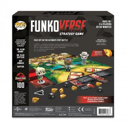 Desková hra POP! Funkoverse - Jurassic Park Base Set