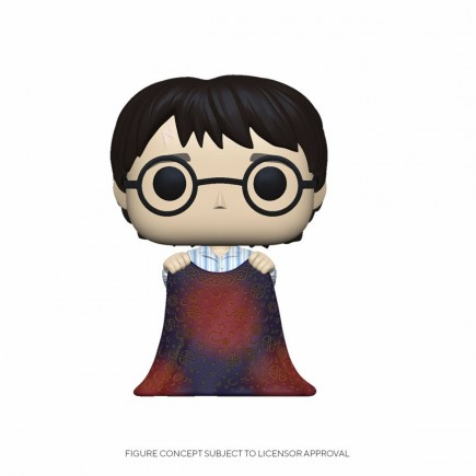 Figurka Harry Potter - Harry Potter with Invisibility Cloak (Funko POP! Movies)