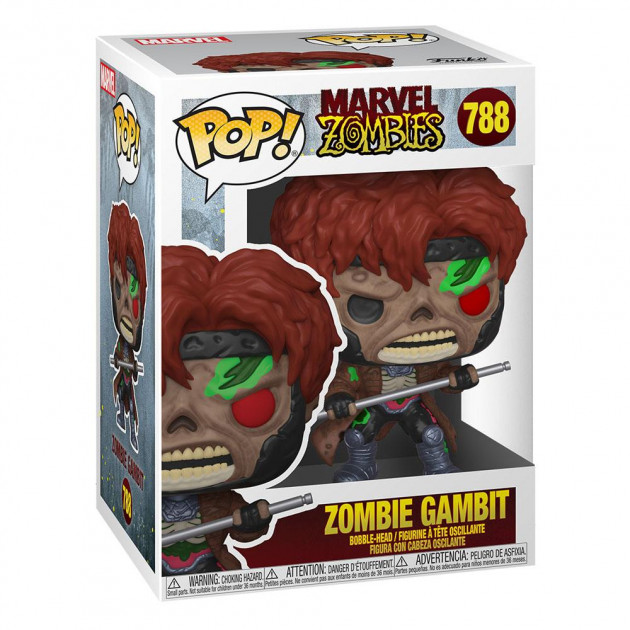 Figurka Marvel Zombies - Gambit (Funko POP! Marvel 788)