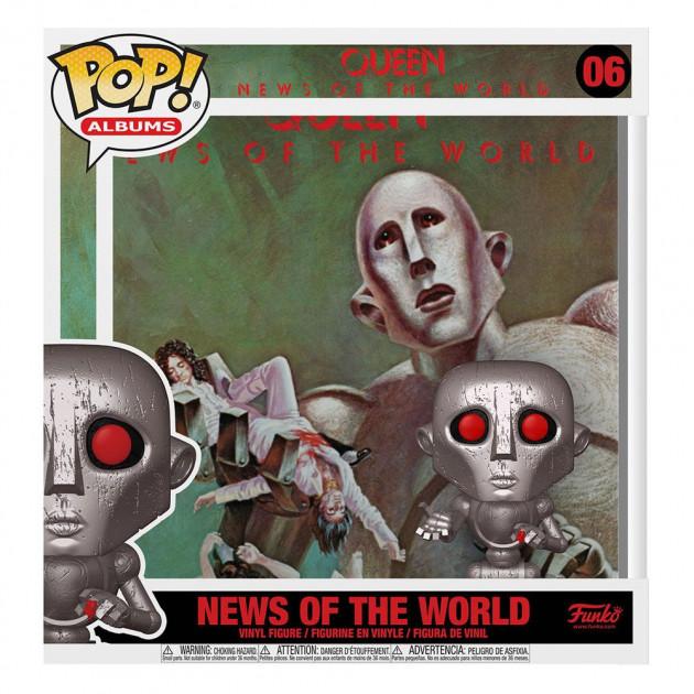 Figurka Queen - News of the World (Funko POP! Albums 6)