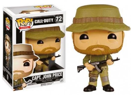 Figurka Call of Duty - Cpt. Price (Funko POP! Games 72)