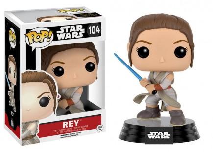 Figurka Star Wars - Rey Battle Pose (Funko POP! Bobble-Head)