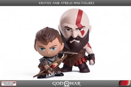 Figurka God of War - Kratos a Atreus