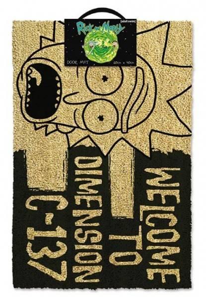 Rohožka Rick and Morty - Dimension C-137