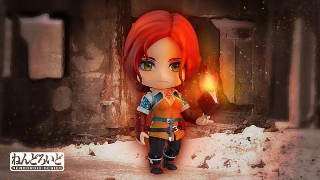 Figurka Zaklínač - Triss (Nendoroid)