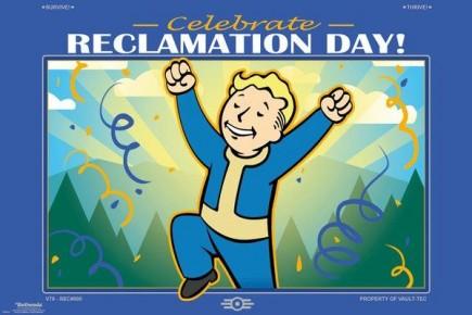 Plakát Fallout 76 - Reclamation Day