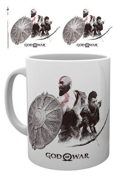 Hrnek God of War - Kratos a Atreus