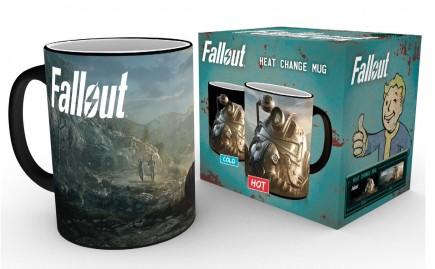 Hrnek Fallout - Dawn (měnící se)