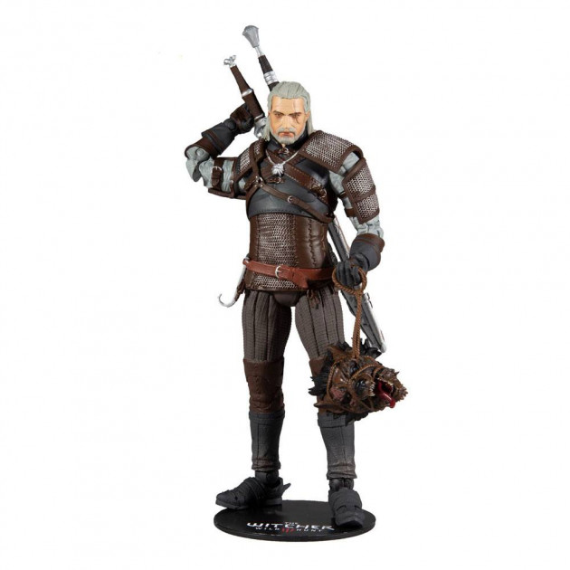 Figurka Zaklínač - Geralt Action Figure 18 cm (McFarlane)