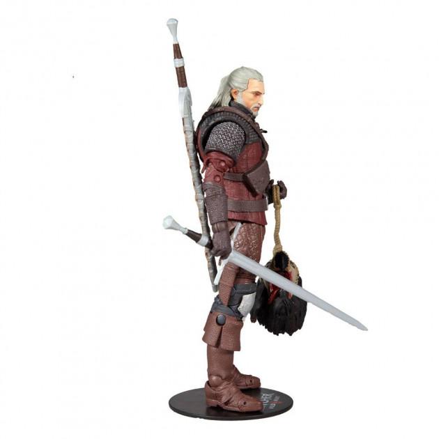 Figurka Zaklínač - Geralt Wolf Armor Action Figure 18 cm (McFarlane)