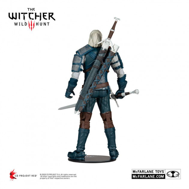 Figurka Zaklínač - Geralt Viper Armor Action Figure 18 cm (McFarlane)