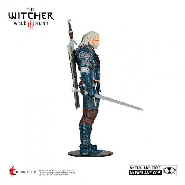 The Witcher Action Figure Geralt of Rivia (Viper Armor: Teal Dye) 18 cm
