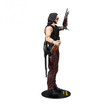 Figurka Cyberpunk 2077 - Johnny Silverhand (McFarlane, 18 cm)