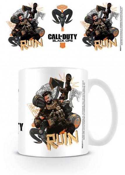 Hrnek Call of Duty: Black Ops 4 - Ruin (bílý)