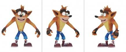 Figurka Crash Bandicoot - Crash (NECA. 14 cm)