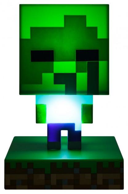 Lampička Minecraft - Zombie