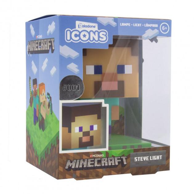 Minecraft 3D Icon Light Steve