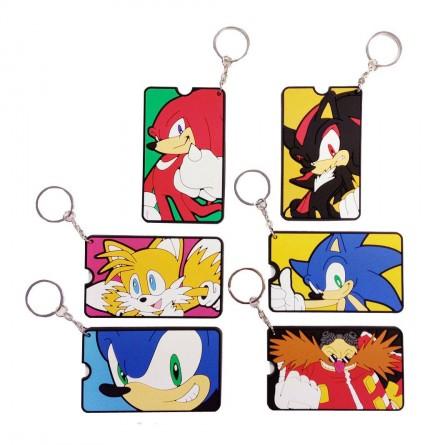 Klíčenka Sonic the Hedgehog - Gacha Bag Tags (náhodný výběr)