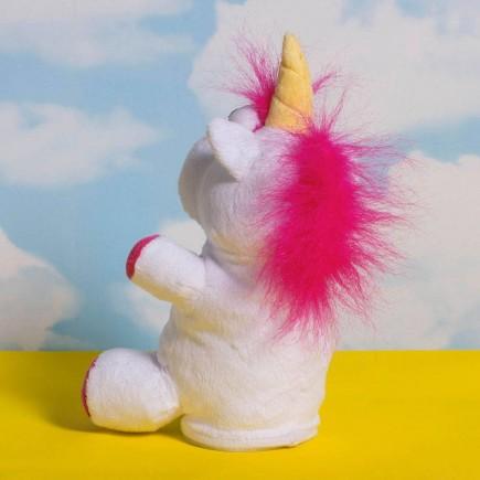 Unicorn Talk Back Plush Figure 20 cm