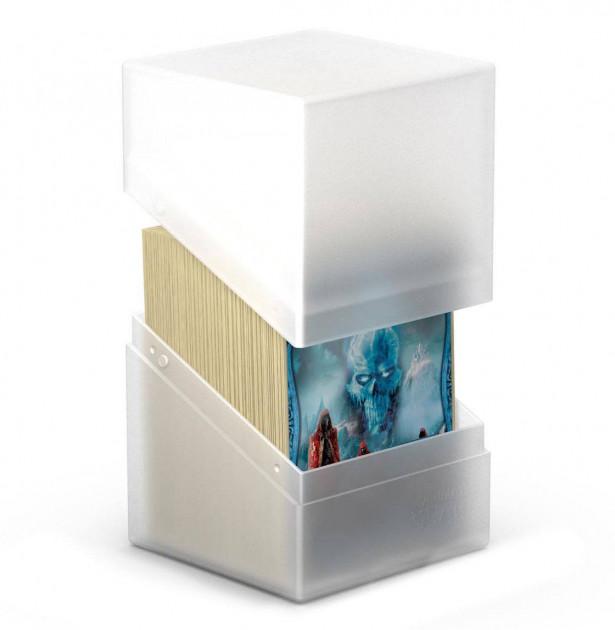 Krabička na karty Ultimate Guard - Boulder Deck Case Standard Frosted (100+)
