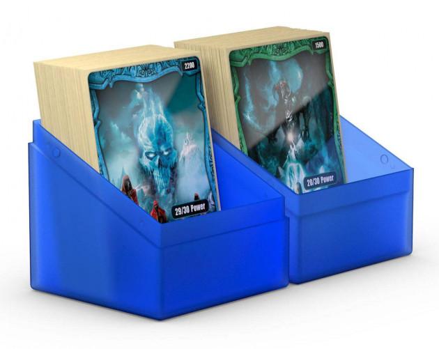 Ultimate Guard Boulder Deck Case 100+ Standard Size Sapphire