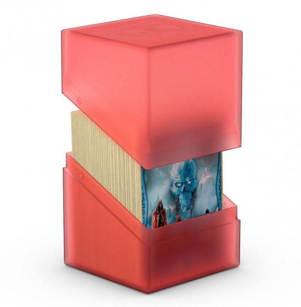 Krabička na karty Ultimate Guard - Boulder Deck Case Standard Ruby (100+)