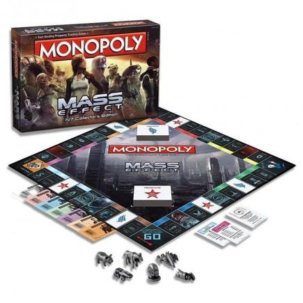 Desková hra Monopoly Mass Effect