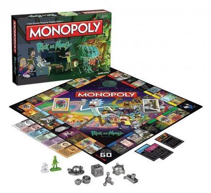 Desková hra Monopoly - Rick and Morty