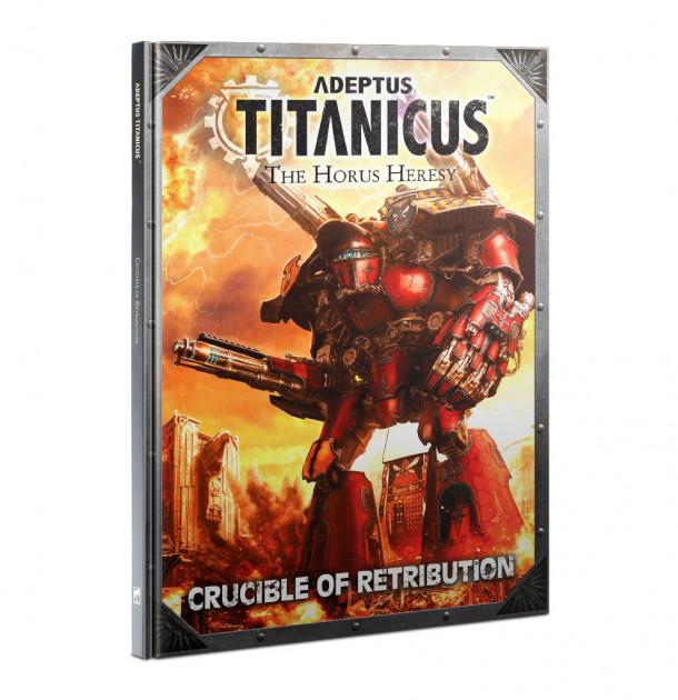 Kniha W40k Adeptus Titanicus: Crucible of Retribution